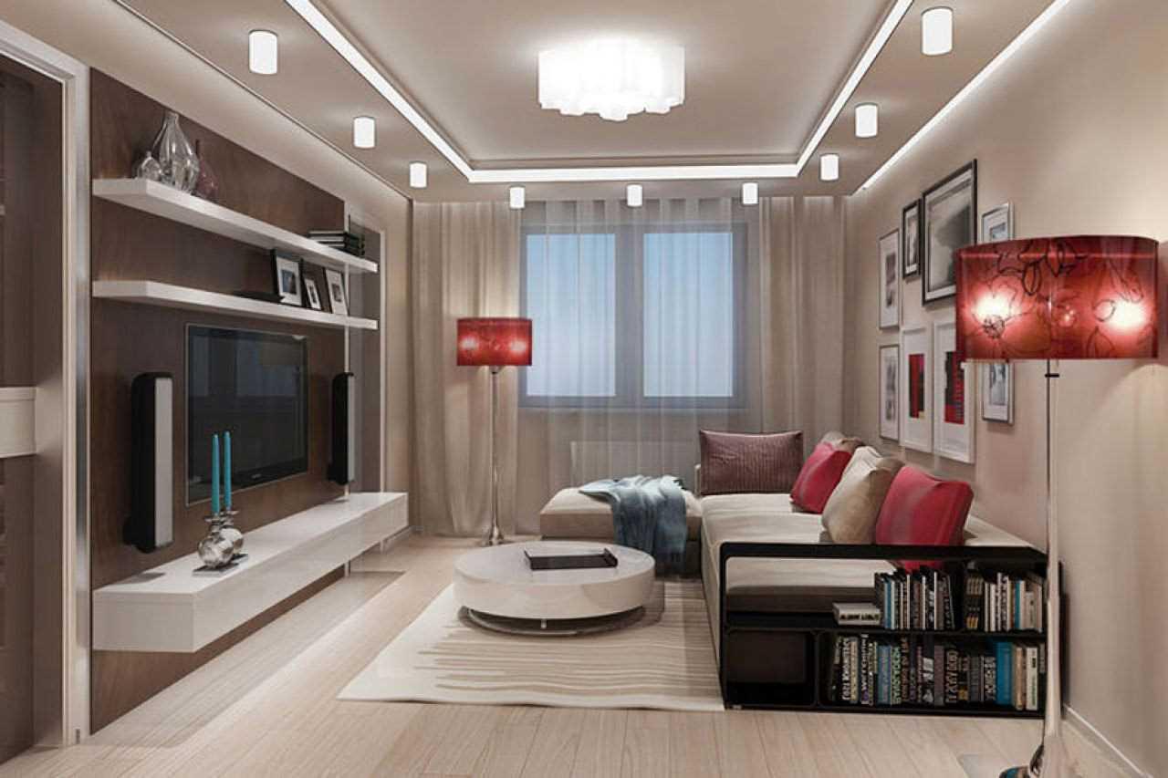 Как расставить мебель в маленькой комнате, популярные способы