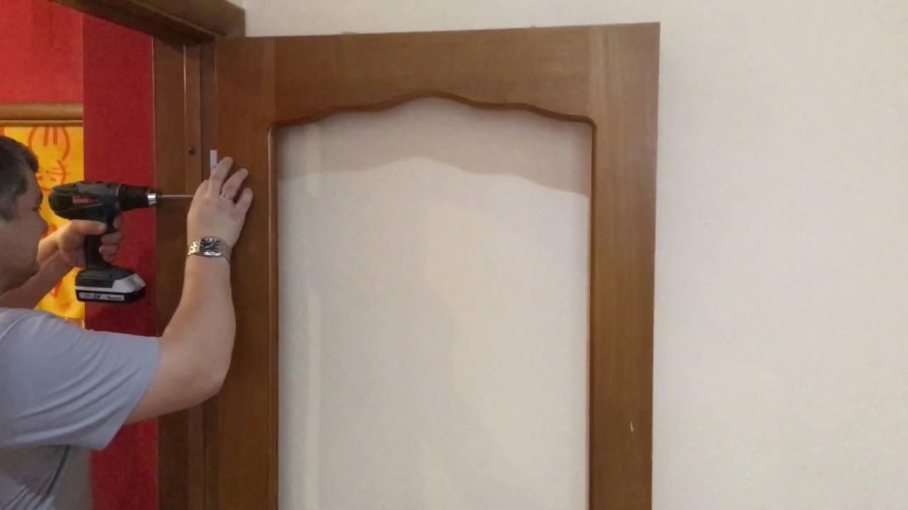 Замена межкомнатных дверей своими руками: порядок работы