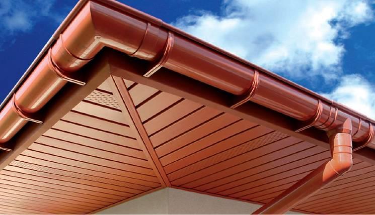 Монтаж софитов на карниз крыши: описываем подробно