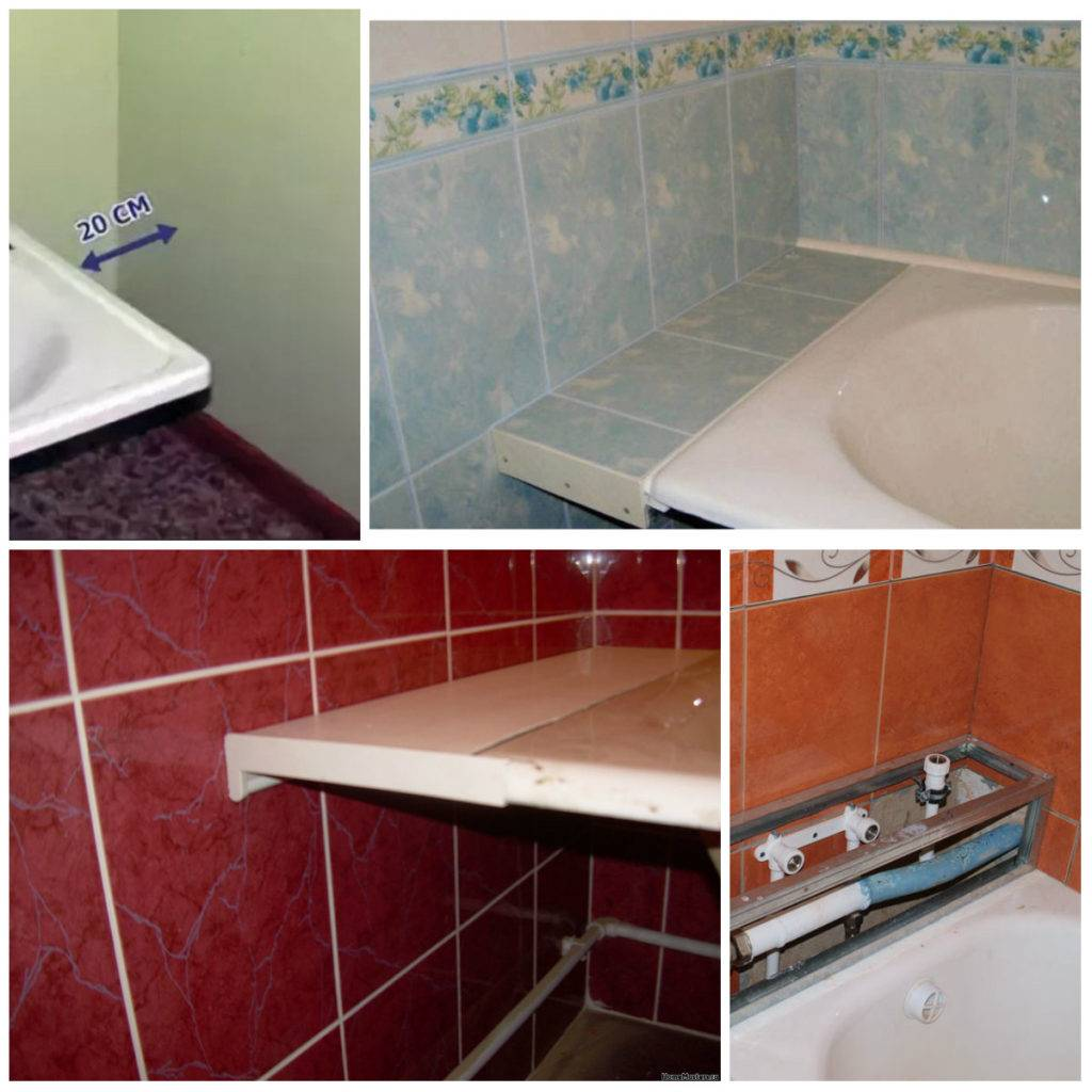 Как заделать зазор чтобы не протекала вода между ванной и стеной