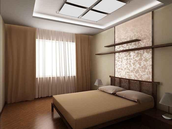 Дизайн интерьера спальни в современном стиле — фото идеи