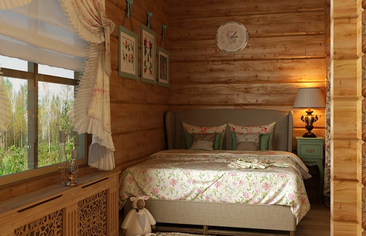 Спальни из массива дерева (деревянная спальня): 200 фото эксклюзивных вариантов