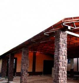 Крыша из поликарбоната для веранды и террасы своими руками