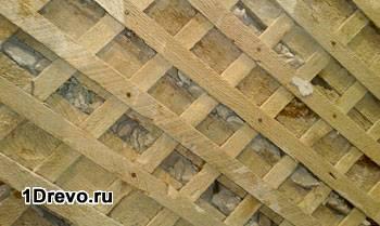 Штукатурка деревянных стен внутри дома: процесс работ