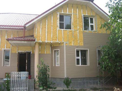 Утеплитель для стен дома снаружи под сайдинг: обшивка и утепление деревянного дома снаружи минватой своими руками