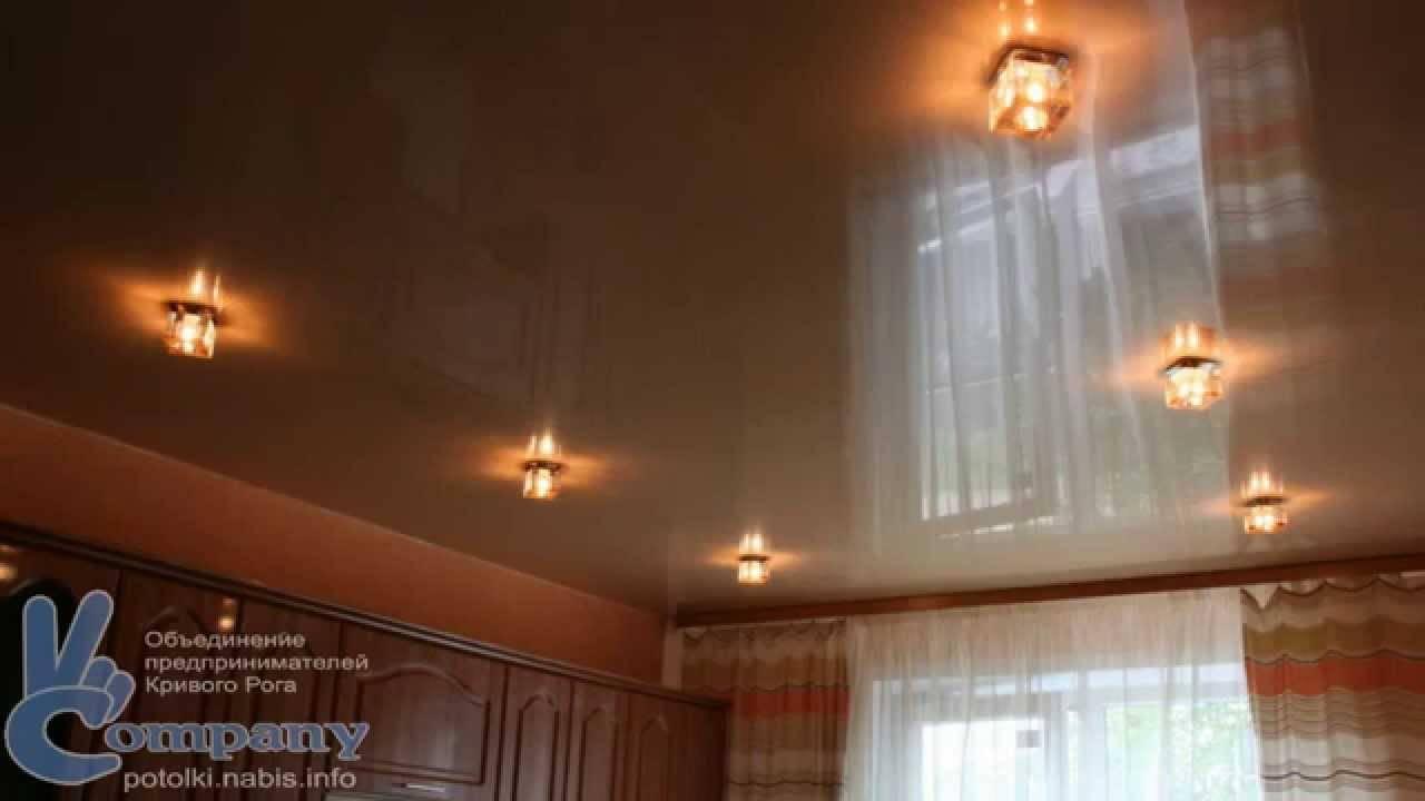Расположение точечных светильников на натяжном потолке (фото и схемы)