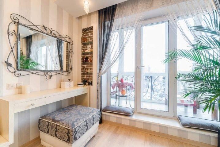 Панорамные окна вдизайне жилища— 26 фото разных комнат