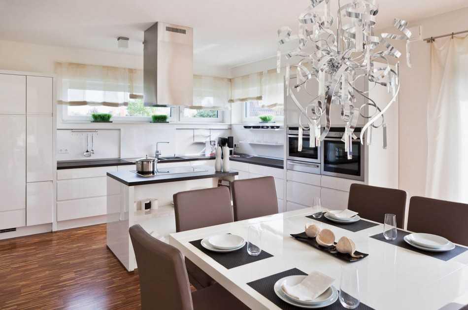 Современный дизайн кухни 2021-2022: фото кухни в современном и классическом дизайне