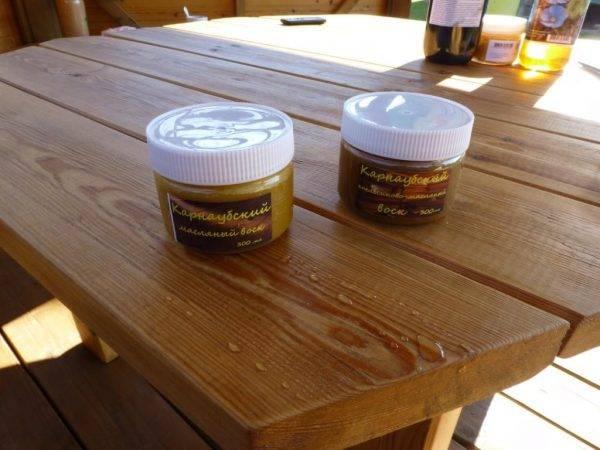 Масло для покрытия древесины: обработка и пропитка дерева своими руками