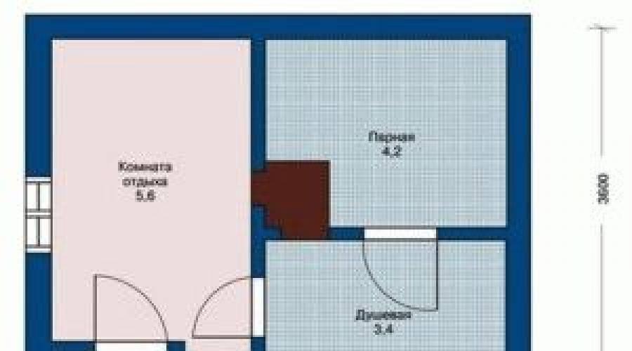 Планировка бани размером 3х5 м: как все организовать внутри и снаружи