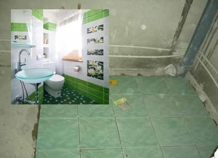 Укладка плитки в ванной своими руками: 125 фото и видео мастер-класс по укладке плитки