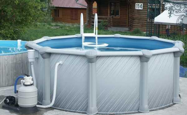 Бассейн для дачи каркасный или надувной, открытый или крытый, композитные и пластиковые варианты, как сделать своими руками, строительство и дизайн
