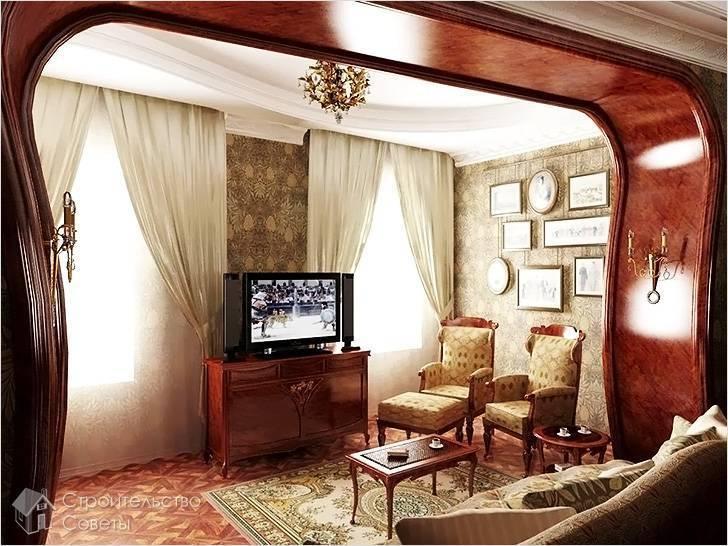 Декор дверного проема в домашнем интерьере -
