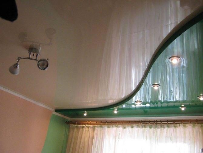 Монтаж двухуровневого натяжного потолка: профиль для двухуровневых конструкций, как сделать двухуровневый потолок своими руками