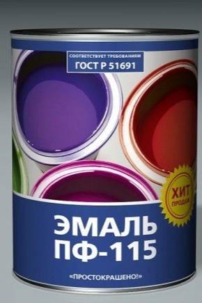 Разновидности, свойства и порядок нанесения ХВ краски