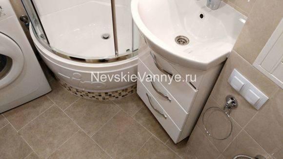 Как сделать ремонт ванной под ключ недорого (за 100 тысяч рублей)