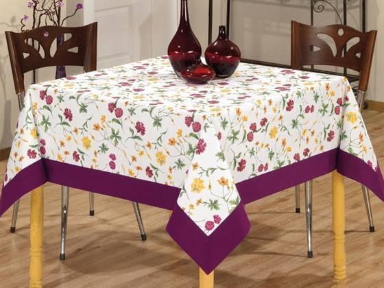 Скатерть своими руками из портьерной ткани: раскрой скатерти для квадратного и прямоугольного стола.