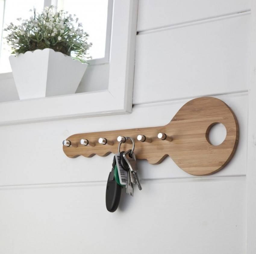 Как сделать ключницу своими руками - простые пошаговые мастер-классы с фото примерами