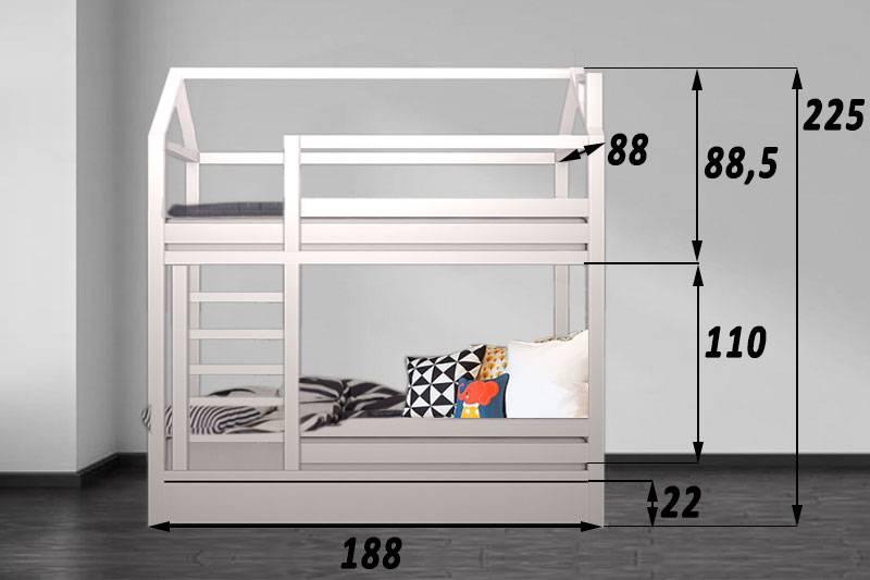 Двухъярусная кровать для детей: какие бывают и что нужно учитывать при выборе