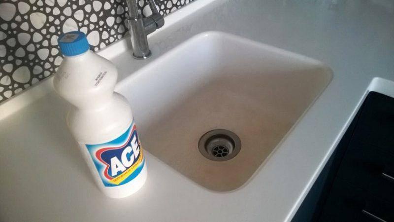 Чем мыть раковину из искусственного камня: натуральные чистящие средства, позволяющие ухаживать за кухней