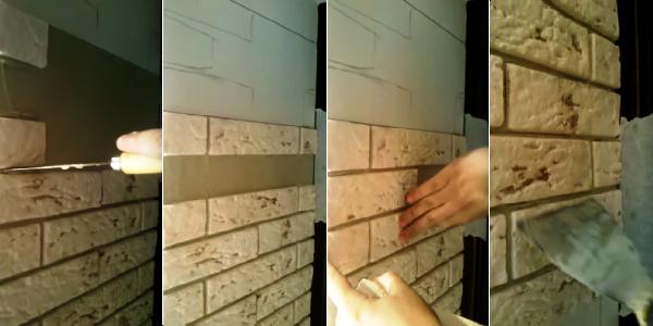 Как выбрать клей для искусственного камня - виды, расход и применение