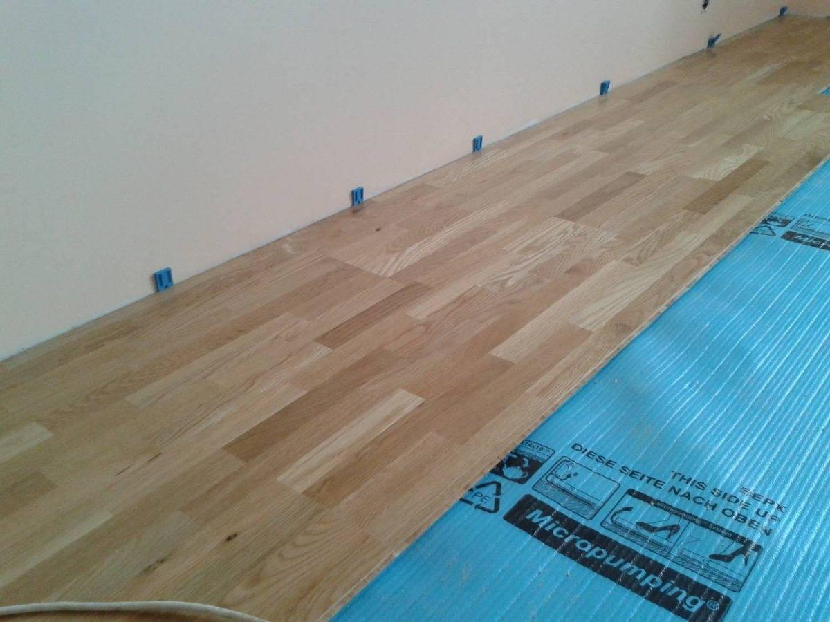 Технология укладки ламината на бетонный пол