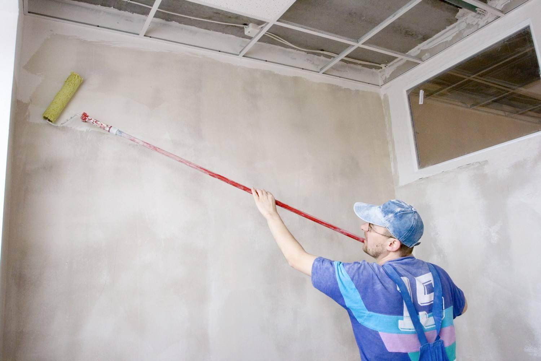Подготовка стен к покраске в квартире