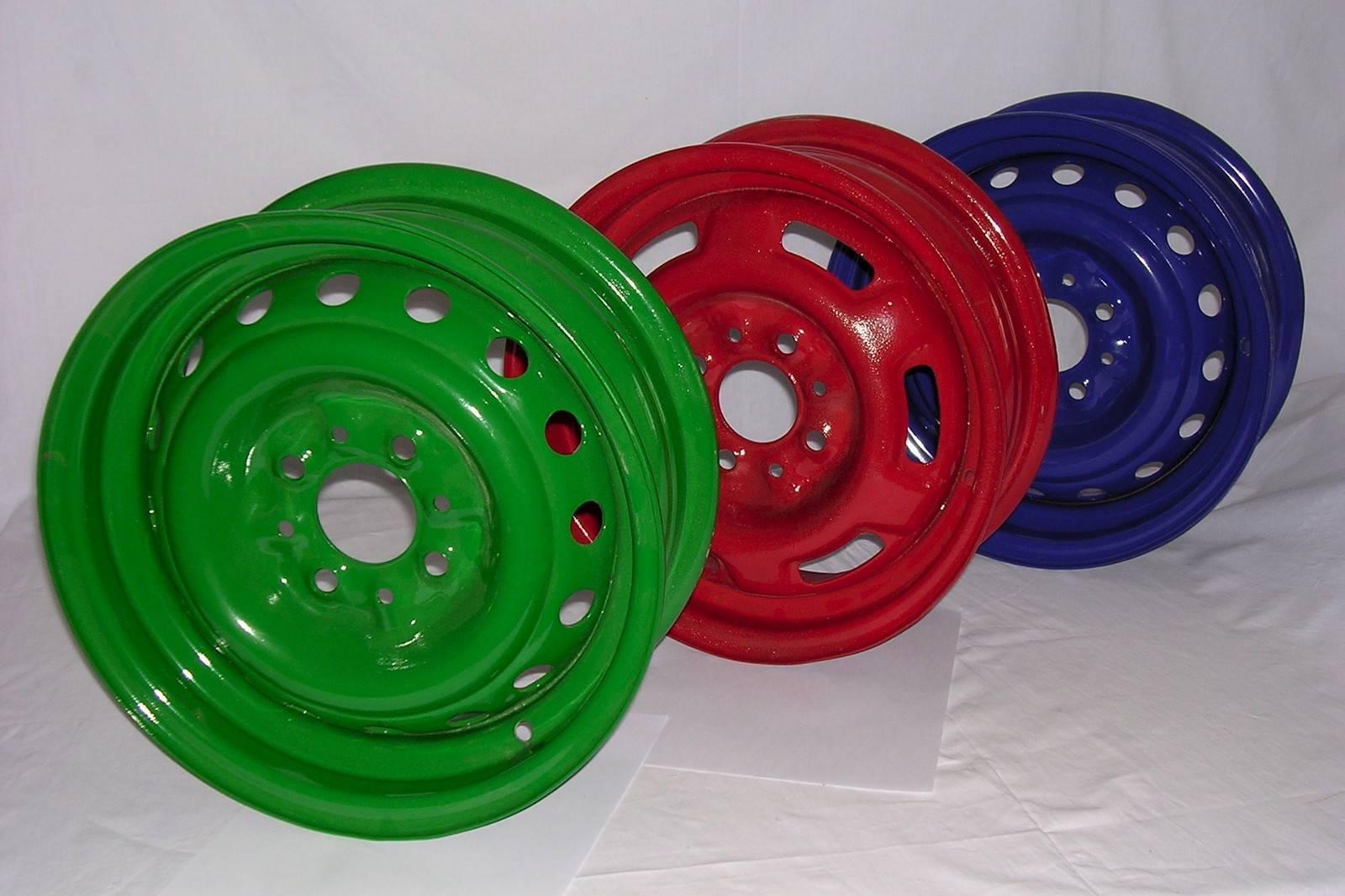 Снятие старой краски с дисков. подготовка к лету часть 2
