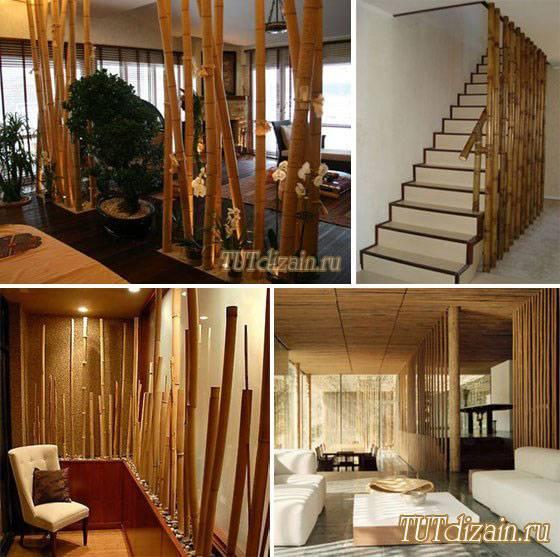 Отделка стен бамбуком – разновидности, преимущества и технология