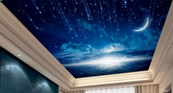 Потолок звездное небо: устройство и принцип монтажа своими руками | строй советы