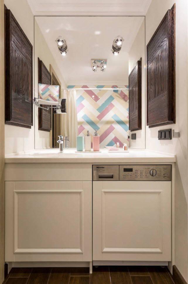 Как установить стиральную машину в ванной комнате?