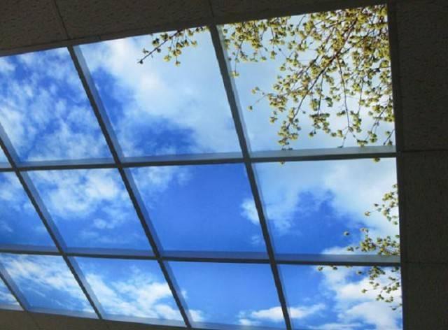 Натяжные потолки 3d — применение оригинальной отделки потолочных поверхностей
