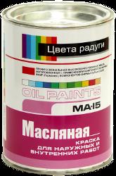 Краска масляная ма-15: состав, технические характеристики