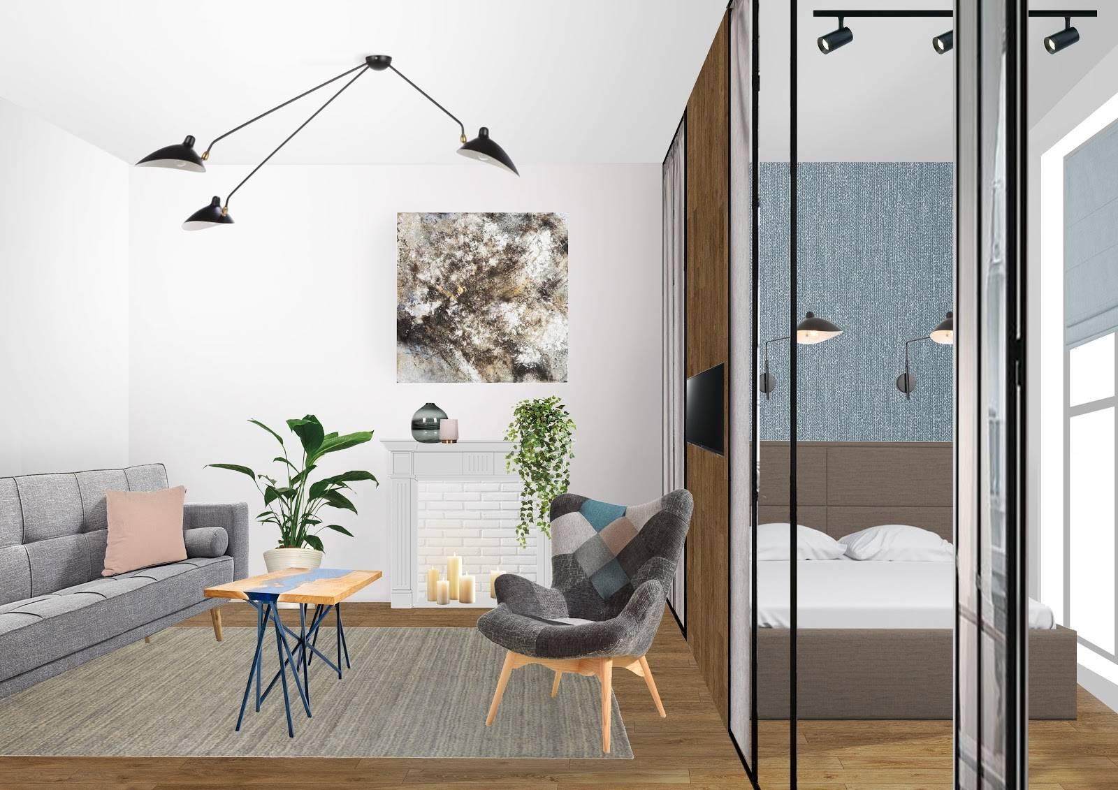 Дизайн однокомнатной квартиры с нишей (47 фото): интерьер комнаты с нишей для кровати в спальне. как расставить мебель?