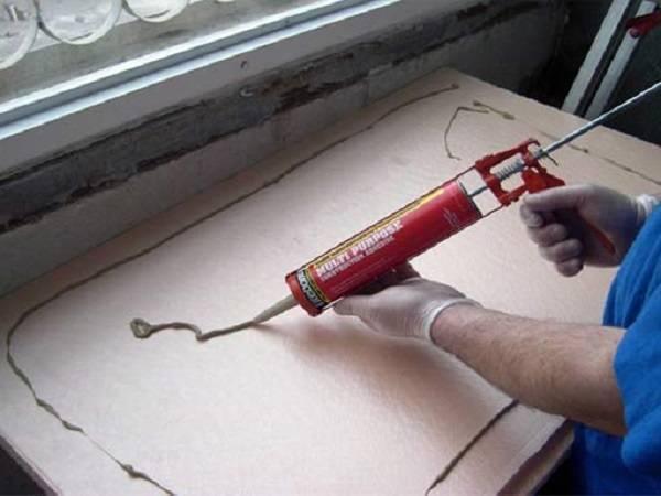 Утепление потолка экструдированным пенополистиролом