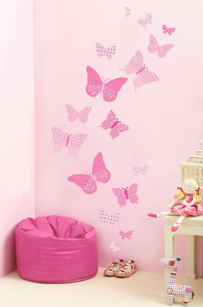 Бабочки своими руками из бумаги на стену - трафареты, инструкция, оформление