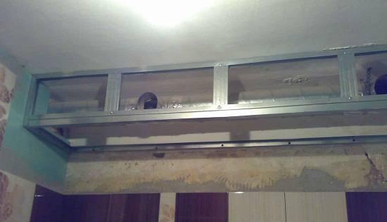 Делаем короб из гипсокартона своими руками - на потолок и стену, в ванную и туалет, с подсветкой и др