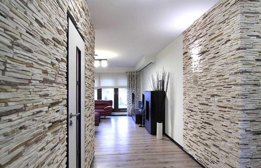 Гипсовый камень для внутренней отделки (31 фото): монтаж декоративного искусственного камня на стену в квартире