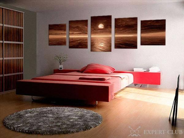 Что повесить над кроватью в спальне? 10 крутых идей