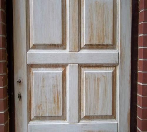 Ремонт межкомнатных дверей, реставрация деревянного полотна своими руками