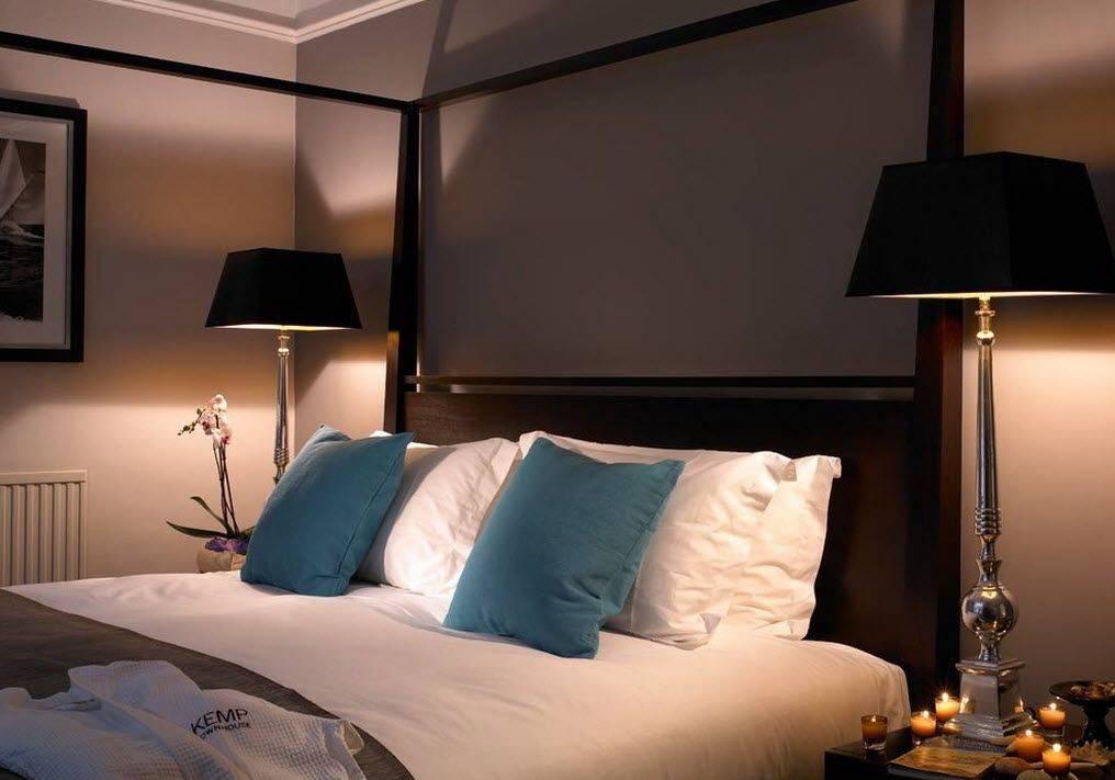 Ночники в спальню — как правильно выбрать? 70 фото в интерьере спальни