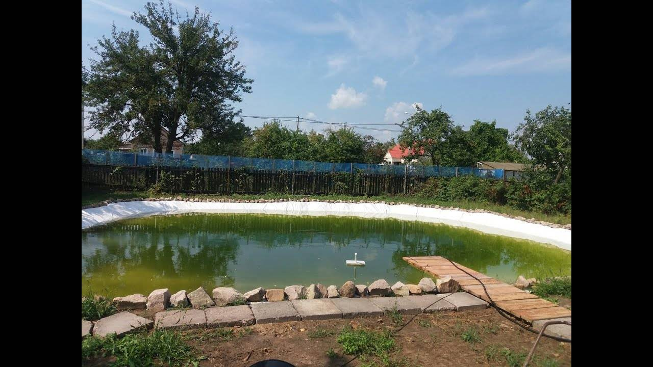 Водоем своими руками на дачном участке - 110 фото и видео пошаговая инструкция как построить декоративный пруд