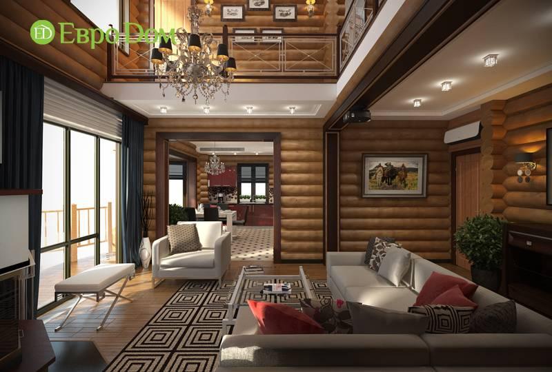 Варианты оформления низких потолков в деревянном доме