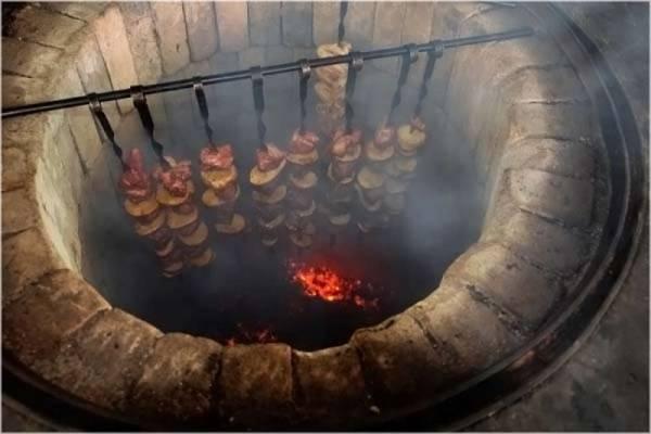 Тандыр из кирпича своими руками: как сделать квадратную печь, как построить кирпичную горизонтальную, установка колосника, фото