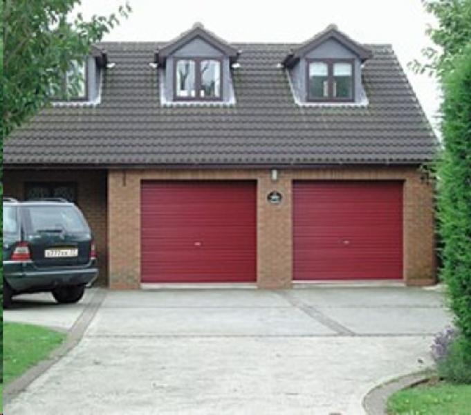Ворота-рольставни для гаража своими руками