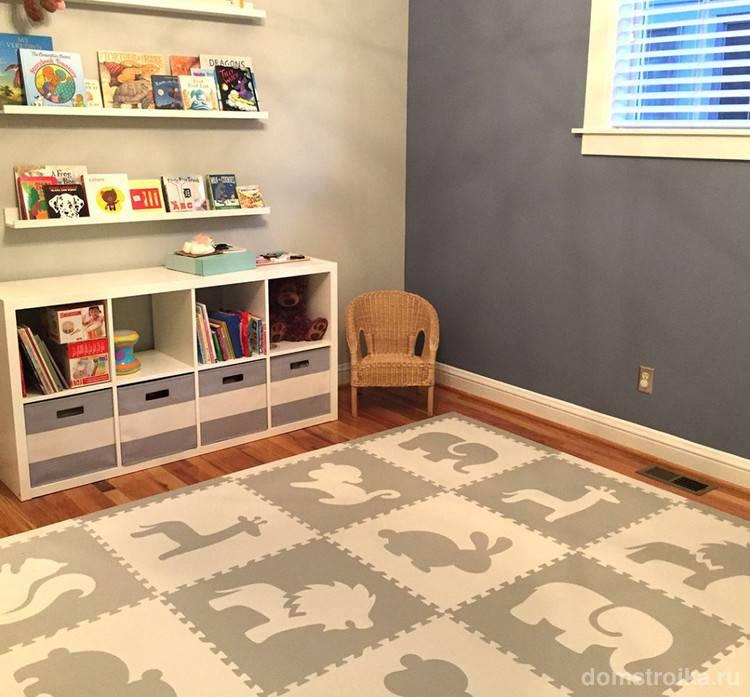 Пол в детской комнате - 75 фото лучших идей оформления в интерьере