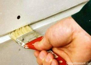 Гипсокартон заделка швов: чем замазывать, как между листами гкл, своими руками ротбандом правильно, армированный