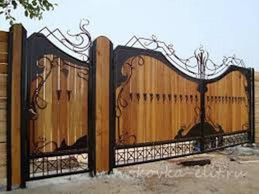 Ворота: виды, материалы изготовления, технология строительства распашных и секционных ворот