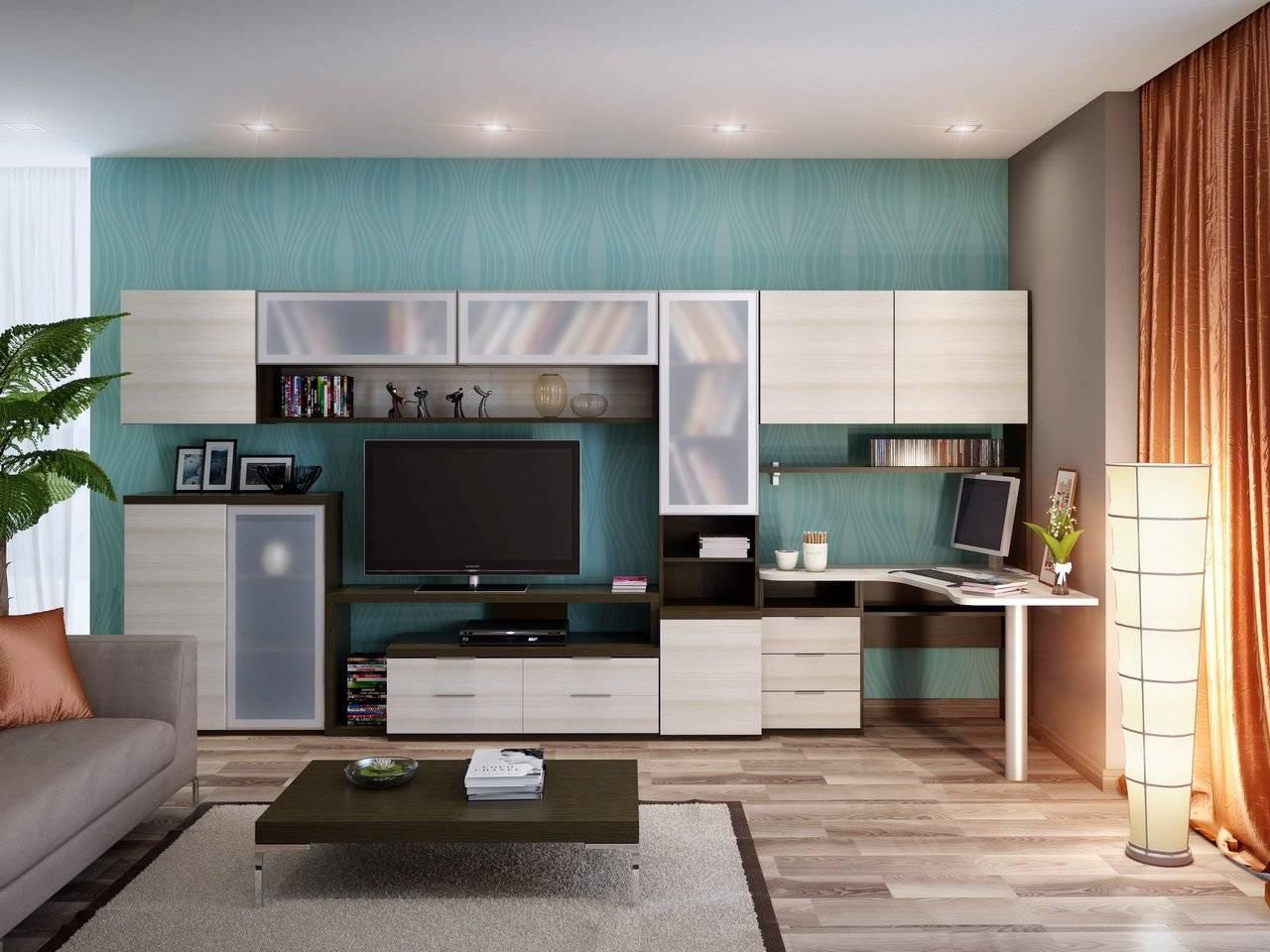 9 примеров организации кабинета в гостиной или спальне