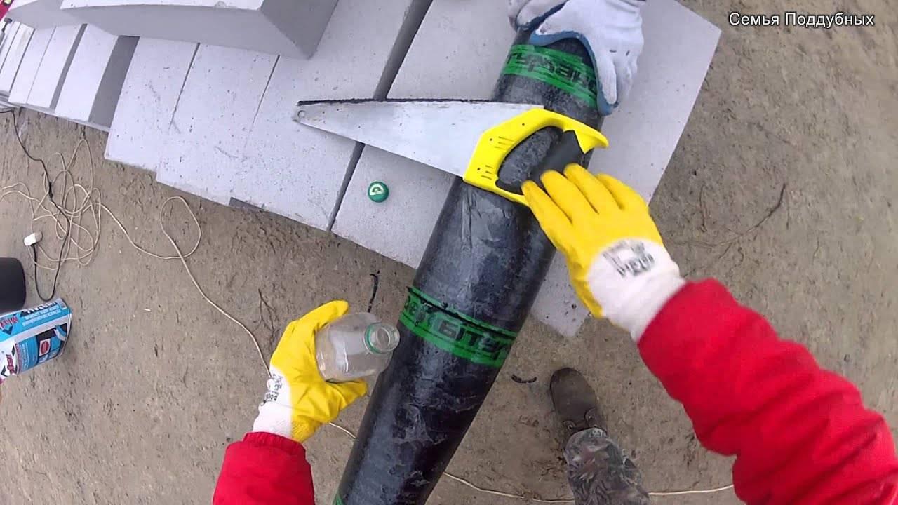 Наплавляемая кровля своими руками: инструкция, порядок работ, фото, видео